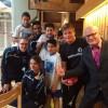 Ein Star, viele Selfies und das Strafrecht – Christian Vorländer zu Besuch bei den buntkicktgut open