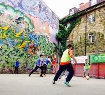Flüchtlinge und Fußball – Straßenfest von Bellevue di Monaco und buntkicktgut