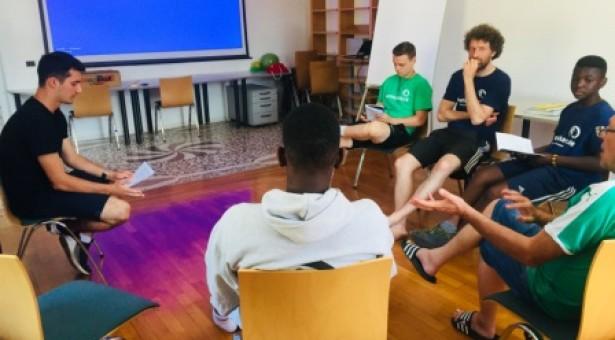 buntkicker-Redaktion in Südtirol auf Klausurtagung