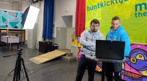 buntkicktdigital! – Bundesweite Workshops laufen super Mit Berlin, Hamburg, Ludwigshafen und vielen mehr
