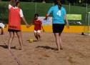 Stolzer zweiter Platz für buntkicktgut Ladies beim Beachsoccer Turnier im Olympia Park
