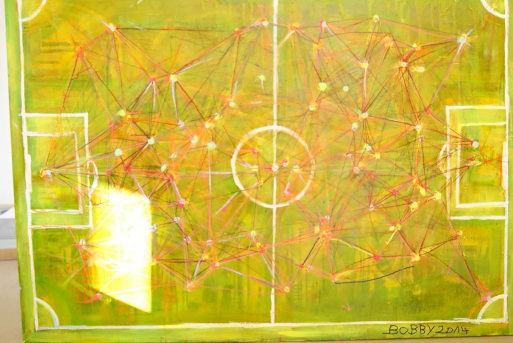 Der Traum von Pep Guardiola? 500 Pässe spielt eine Mannschaft ungefähr pro Spiel, hier sind sie alle aufgezeichnet.