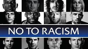 Fußballer gegen Rassismus.