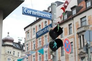 Mittem im Herzen Münchens! Das Straßenfest am vergangenen Wochenende auf der Corneliusstraße.