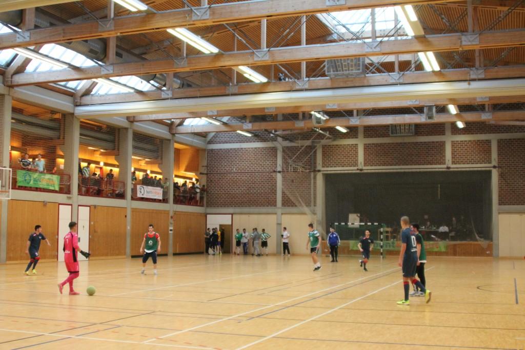 Die Fagana Halle in Feldmoching - legendärer Austragungsort zahlreicher buntkicktgut Turniere.
